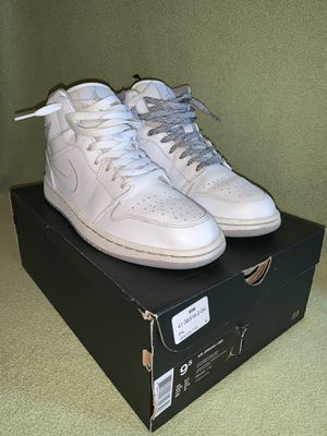 Jordan 1 Mid White for Sale in Dublin, OH