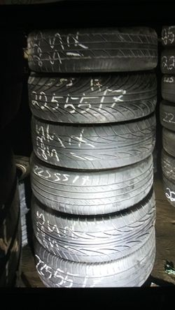 Tire 225 55 17 instaled includes EACH ELMOFLES for Sale in La Puente,  CA