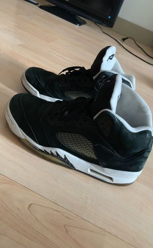 Air Jordan Oreo 5s used but in good condition! for Sale in Philadelphia, PA