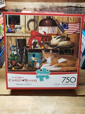 "BUFFALO games ""The Cats Of Charles Wysocki"" 750pc puzzle NEW for Sale in Indianapolis, IN"