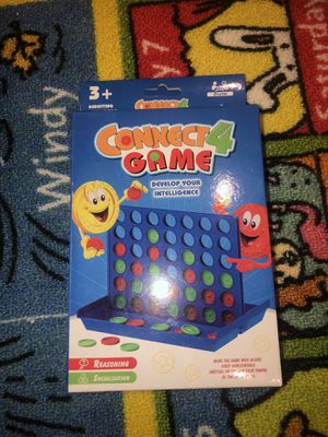 CONNECT 4 for kids compact version for Sale in Canyon Country, CA