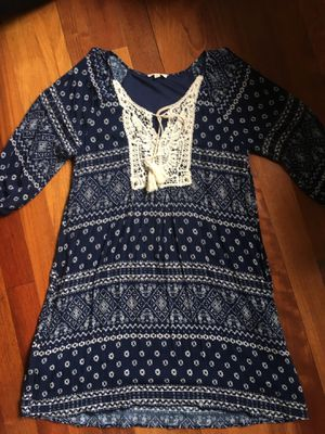 Navy Flowy Sundress for Sale in Leesburg, VA