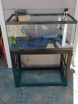 40 Gallon Fish Tank with Stand for Sale in Whittier,  CA