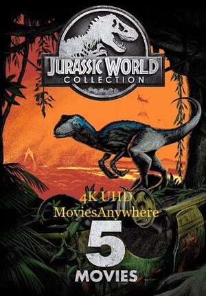 4K Jurassic World 5-Movie Collection — 4K MA for Sale in Cerritos, CA