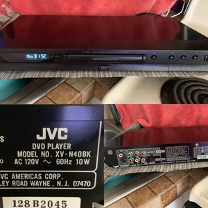 Jvc DVD player model no. XV-N40BK for Sale in Pembroke Pines, FL