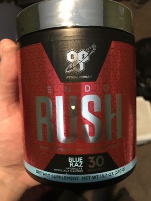 BSN rush pre-workout for Sale in Rockville, MD
