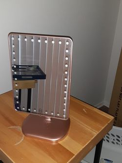 IMPRESSIONS VANITY TOUCH PRO LED MAKEUP MIRROR BLUETOOTH AUDIO & USB CHARGER for Sale in Columbus,  OH