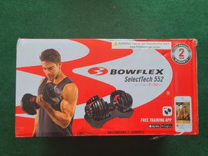 Bowflex SelectTech 552 Single New for Sale in Garden Grove, CA