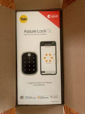 YRD256 - CBA Assure Lock SL Connected By August (NIB) Smart Connected WIFI Lock for Sale in Portland, OR