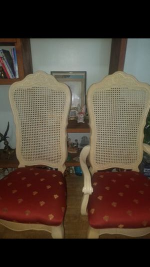 2 Dinning or free standing chairs for Sale in Colorado Springs, CO