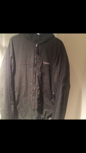 Heavy duty Abercrombie water resistant green jacket with hood (XL) for Sale in Palm Beach Gardens, FL
