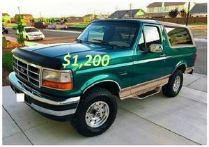 🎁$12OO 🔥Non Smoker🔥 1996 Ford Bronco🎁 for Sale in Little Rock, AR