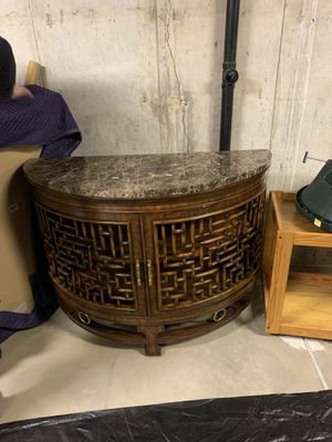 2 Large Ornate Maitland-Smith End Tables Used for Sale in Centennial, CO
