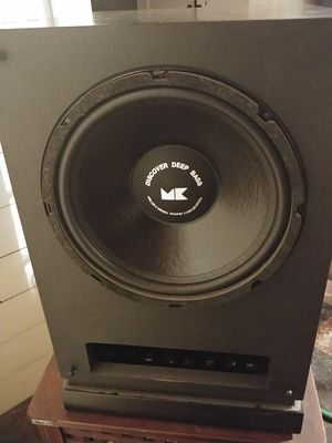 M&K MX-80 powered sub subwoofer for Sale in Bremerton, WA