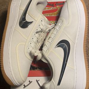 Travis Scott Air Force Low 1 White for Sale in Las Vegas, NV