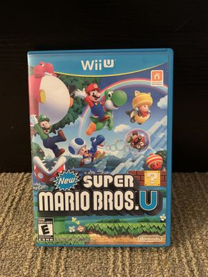New Super Mario Bros U Nintendo Wii U for Sale in Glen Allen, VA