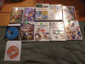 Nintendo Wii games different prices for Sale in San Diego, CA