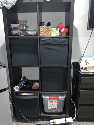 Black shelves with detachable storage for Sale in Miami, FL