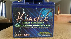 Kinetik car audio power cell for Sale in Barnhart, MO