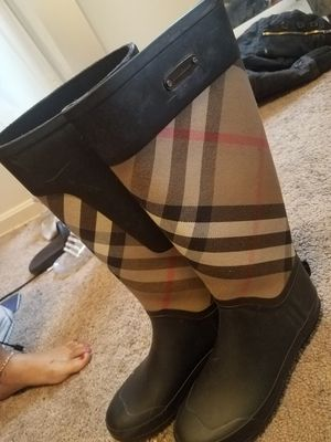 burberry rainboots for Sale in Washington, DC