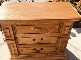"Solid Wood Nightstand ,size:length 37""high:31""length :19"" for Sale in Cypress,  CA"