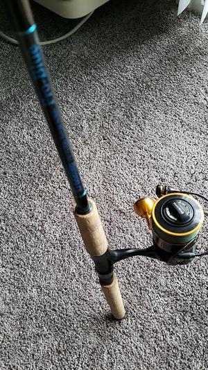 Fishing rod Penn slammer3 on a gloomis 7'6 pro blue for Sale in Kirkwood, NJ
