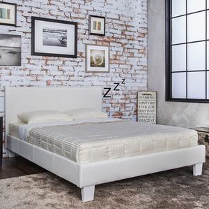 BRAND NEW PLATFORM BED FRAME IN TWIN, FULL, QUEEN, KING, CAL KING for Sale in Dublin, CA