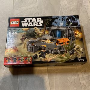 Star Wars Lego 75171 New battle on scarif for Sale in Bothell, WA