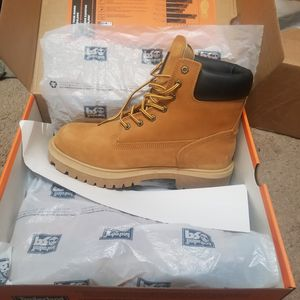 11.5w (mens) Brand new timberland steel toe boots for Sale in Trenton, NJ