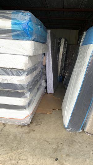 Beautiful regular mattress and memory foam! for Sale in Gaithersburg, MD
