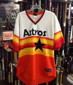 Houston Astros 3XL RETRO JERSEY for Sale in Oak Lawn, IL