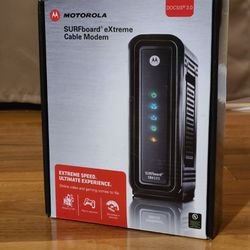 MOTOROLA SURFBOARD EXTREME CABLE MODEM SB6121 for Sale in Fairfax,  VA