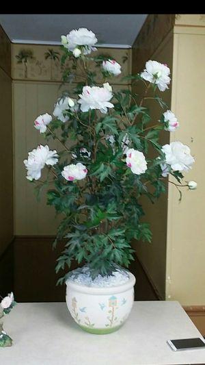 HUMMIINGBIRD FLOWER POT & HUMMINGBIRD STATUE/AVAIL FOR PKUP...LIKE NEW for Sale in Hampton, GA