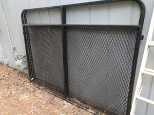 Black painted steel dog kennel panels (qty 6) for Sale in Gig Harbor, WA