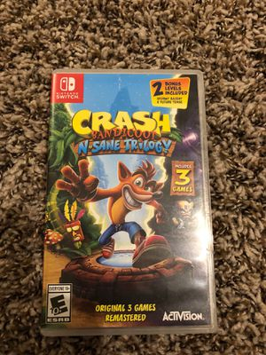 Nintendo Switch Crash Bandicoot for Sale in White Settlement, TX