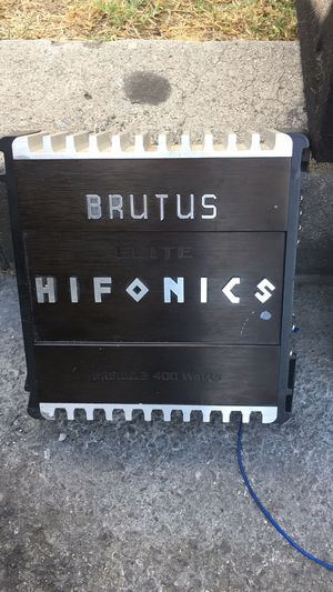 Hifonics Brutus amp negotiable for Sale in Los Angeles, CA