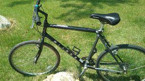 black and gray hard tail mountain bike Road bike cruiser. for Sale in Manassas, VA