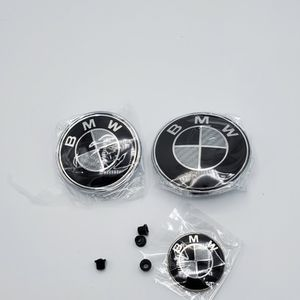 BMW Black and White 7pc Emblem Logo Kit for Sale in Lake Worth, FL