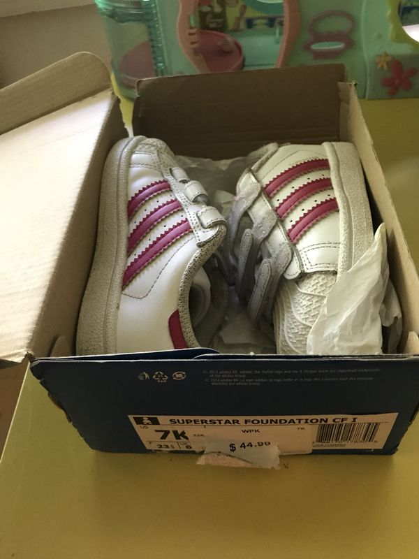 Toddler girl size 7c