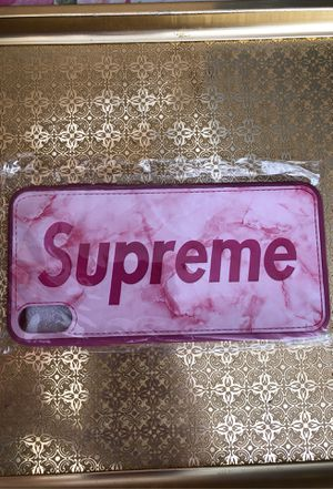 iPhone case 7 case Supreme $30 for Sale in Las Vegas, NV