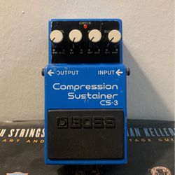Boss CS-3 Compressor Guitar Pedal for Sale in Santa Ana,  CA