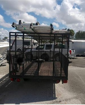 Utility trailer: 11' long x 7wide for Sale in Boca Raton, FL