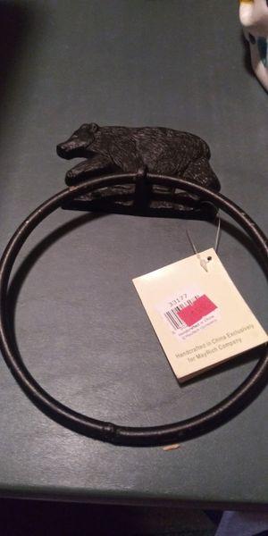 Cast iron holder for Sale in Brainerd, MN