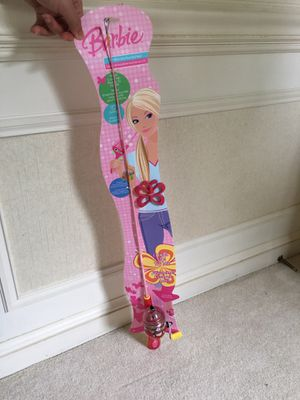 Kids Barbie fishing pole for Sale in Rockville, MD