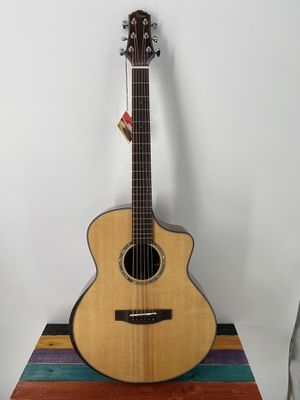Acoustic Guitar Smiger M-F2SS Acoustic Guitar Cutaway Solid Woods High Quality Killer Price Free Deluxe Gigbag for Sale in Winchester, CA