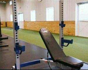 Bench rack workout for Sale in Modesto, CA