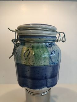 Ceramic Apothecary Jar for Sale in Charlotte,  NC