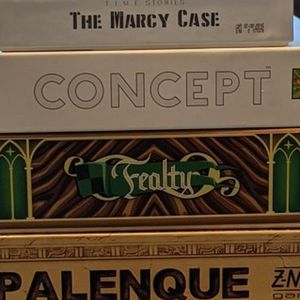 Board Games (Mage Knight, Merchant Of Venus, Concept, Epic Spell Wars, And More!) for Sale in Catonsville, MD