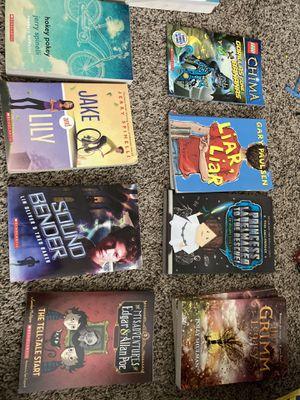 Books 2nd grade-6 grade levels for Sale in Corona, CA
