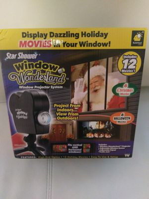 Window Wonderland Projector System for Sale in Durham, NC